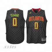 Camisetas Baloncesto Niños Atlanta Hawks 2015-16 Jeff Teague 0# NBA Road..