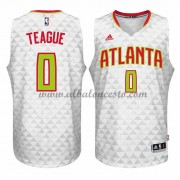 Camisetas Baloncesto NBA Atlanta Hawks 2015-16 Jeff Teague 0# Home..