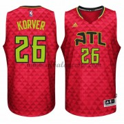 Camisetas Baloncesto NBA Atlanta Hawks 2015-16 Kyle Korver 26# Alternate..