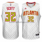Camisetas Baloncesto NBA Atlanta Hawks 2015-16 Mike Scott 32# Home..