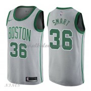 Camisetas Baloncesto Niños Boston Celtics 2018 Marcus Smart 36# City Edition..