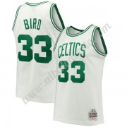 Camisetas Baloncesto NBA Boston Celtics 1985-86 Larry Bird 33# Blanco Hardwood Classics Swingman..