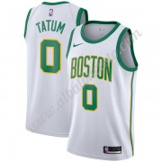 Camisetas Baloncesto NBA Boston Celtics 2019-20 Jayson Tatum 0# Blanco City Edition Swingman..
