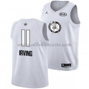 Boston Celtics Kyrie Irving 11# White 2018 All Star Game Swingman Basketball Jersey..