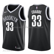 Camisetas Baloncesto Niños Brooklyn Nets 2018 Allen Crabbe 33# Icon Edition..