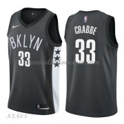 Camisetas Baloncesto Niños Brooklyn Nets 2018 Allen Crabbe 33# Statement Edition..