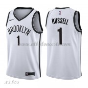 Camisetas Baloncesto Niños Brooklyn Nets 2018 D'Angelo Russell 1# Association Edition..