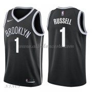 Camisetas Baloncesto Niños Brooklyn Nets 2018 D'Angelo Russell 1# Icon Edition..