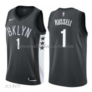 Camisetas Baloncesto Niños Brooklyn Nets 2018 D'Angelo Russell 1# Statement Edition..