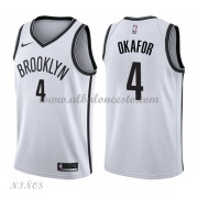 Camisetas Baloncesto Niños Brooklyn Nets 2018 Jahlil Okafor 4# Association Edition..