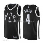 Camisetas Baloncesto Niños Brooklyn Nets 2018 Jahlil Okafor 4# City Edition..