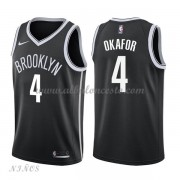 Camisetas Baloncesto Niños Brooklyn Nets 2018 Jahlil Okafor 4# Icon Edition..