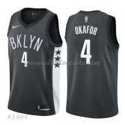 Camisetas Baloncesto Niños Brooklyn Nets 2018 Jahlil Okafor 4# Statement Edition..