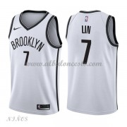 Camisetas Baloncesto Niños Brooklyn Nets 2018 Jeremy Lin 7# Association Edition..