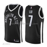 Camisetas Baloncesto Niños Brooklyn Nets 2018 Jeremy Lin 7# City Edition..
