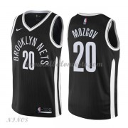 Camisetas Baloncesto Niños Brooklyn Nets 2018 Timofey Mozgov 20# City Edition..
