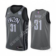 Camisetas NBA Niños Brooklyn Nets 2019-20 Jarrett Allen 31# Gris Statement Edition Swingman..