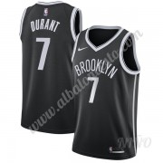 Camisetas NBA Niños Brooklyn Nets 2019-20 Kevin Durant 7# Negro Icon Edition Swingman..