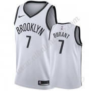 Camisetas NBA Niños Brooklyn Nets 2019-20 Kevin Durant 7# Blanco Association Edition Swingman..