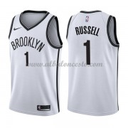 Camisetas Baloncesto NBA Brooklyn Nets 2018  D'Angelo Russell 1# Association Edition..