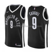 Camisetas Baloncesto NBA Brooklyn Nets 2018  DeMarre Carroll 9# City Edition..