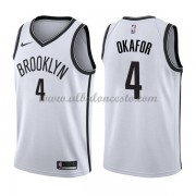 Camisetas Baloncesto NBA Brooklyn Nets 2018  Jahlil Okafor 4# Association Edition..