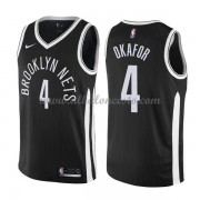 Camisetas Baloncesto NBA Brooklyn Nets 2018  Jahlil Okafor 4# City Edition..