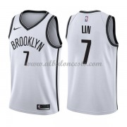 Camisetas Baloncesto NBA Brooklyn Nets 2018  Jeremy Lin 7# Association Edition..