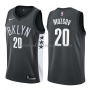 Camisetas Baloncesto NBA Brooklyn Nets 2018  Timofey Mozgov 20# Statement Edition..
