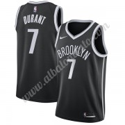 Camisetas Baloncesto NBA Brooklyn Nets 2019-20 Kevin Durant 7# Negro Icon Edition Swingman..