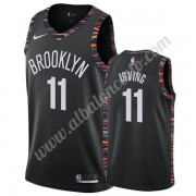 Camisetas Baloncesto NBA Brooklyn Nets 2019-20 Kyrie Irving 11# Negro City Edition Swingman..