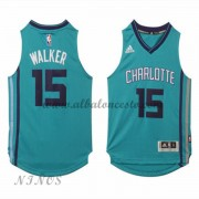 Camisetas Baloncesto Niños Charlotte Hornets 2015-16 Kemba Walker 15# NBA Alternate..