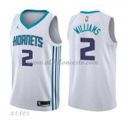 Camisetas Baloncesto Niños Charlotte Hornets 2018 Marvin Williams 2# Association Edition..