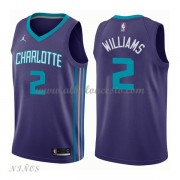 Camisetas Baloncesto Niños Charlotte Hornets 2018 Marvin Williams 2# Statement Edition..