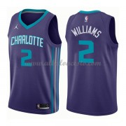 Camisetas Baloncesto NBA Charlotte Hornets 2018  Marvin Williams 2# Statement Edition..