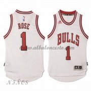 Camisetas Baloncesto Niños Chicago Bulls 2015-16 Derrick Rose 1# NBA Home..