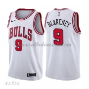 Camisetas Baloncesto Niños Chicago Bulls 2018 Antonio Blakeney 9# Association Edition..