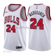 Camisetas Baloncesto Niños Chicago Bulls 2018 Lauri Markkanen 24# Association Edition..