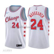 Camisetas Baloncesto Niños Chicago Bulls 2018 Lauri Markkanen 24# City Edition..