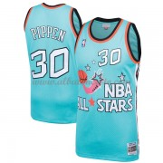 Chicago Bulls Scottie Pippen 33# Teal 1996 All Star Hardwood Classics Swingman Basketball Jersey..