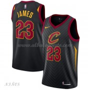 Camisetas Baloncesto Niños Cleveland Cavaliers 2018 LeBron James 23# Statement Edition..