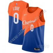 Camisetas NBA Niños Cleveland Cavaliers 2019-20 Kevin Love 0# Azul City Edition Swingman..