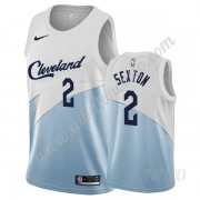 Camisetas NBA Niños Cleveland Cavaliers 2019-20 Collin Sexton 2# Blanco Earned Edition Swingman..