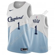 Camisetas NBA Niños Cleveland Cavaliers 2019-20 Rodney Hood 1# Blanco Earned Edition Swingman..