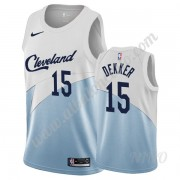Camisetas NBA Niños Cleveland Cavaliers 2019-20 Sam Dekker 15# Blanco Earned Edition Swingman..