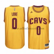 Camisetas Baloncesto NBA Cleveland Cavaliers 2015-16 Kevin Love 0# Gold Alternate..