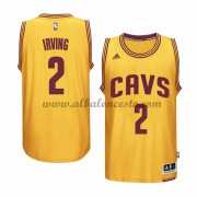 Camisetas Baloncesto NBA Cleveland Cavaliers 2015-16 Kyrie Irving 2# Gold Alternate..