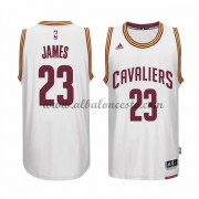 Camisetas NBA Baratas Cleveland Cavaliers 2015-16 LeBron James 23# Home..