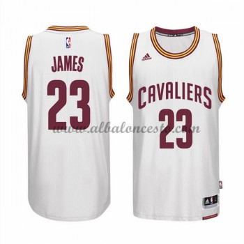 Camisetas NBA Baratas Cleveland Cavaliers 2015-16 LeBron James 23# Home
