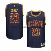 Camisetas Baloncesto NBA Cleveland Cavaliers 2015-16 LeBron James 23# Armada Alternate..